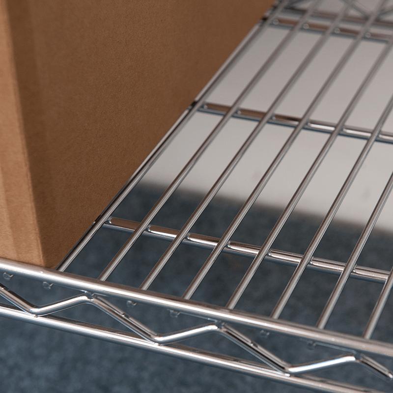 slanted-shelf RACK