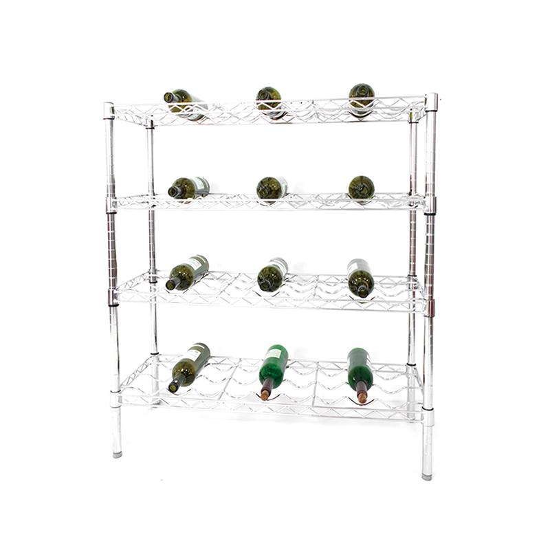 Wire wine shelf kit