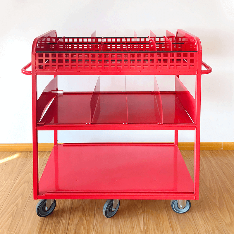 Easy to pick different size of goods with Movable Dividers.