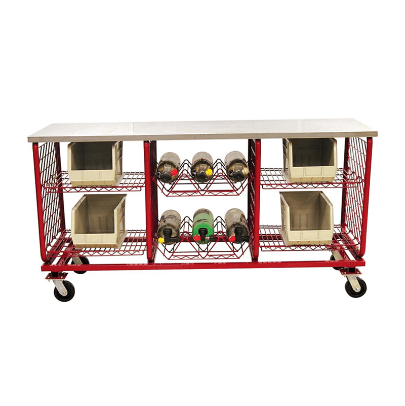 Worktable-3 Compartment