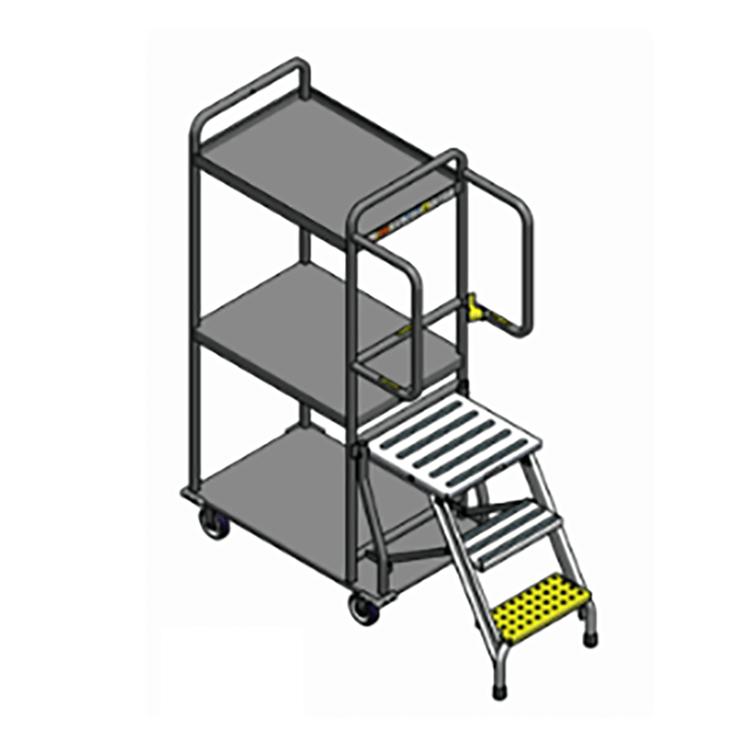 3 Step Ladder Cart